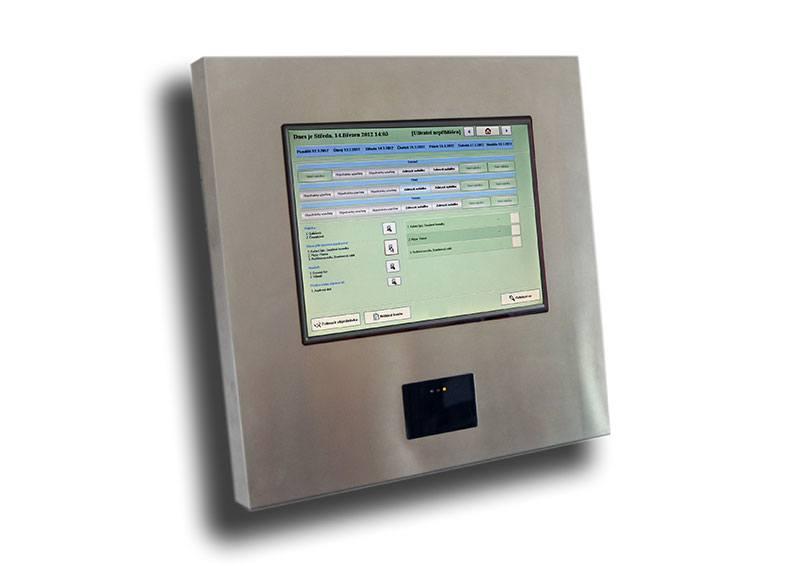 Stravovací systém - Stravovací PC v nerezovém krytu