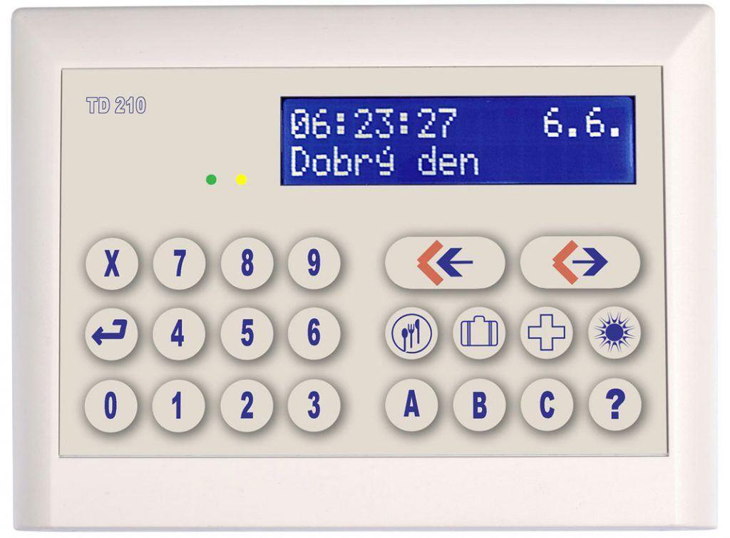 Docházkový systém - Bezkontaktní terminál TD210